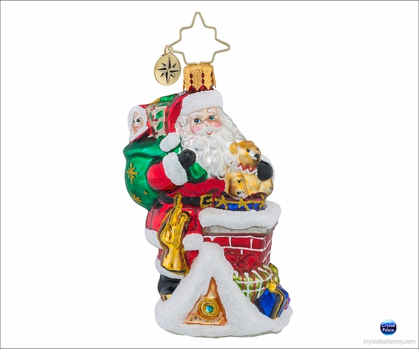 Christopher Radko A Spectacular Entrance Gem Christmas Ornament