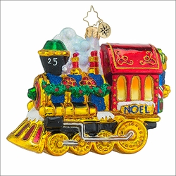 All Aboard! Christmas Ornament