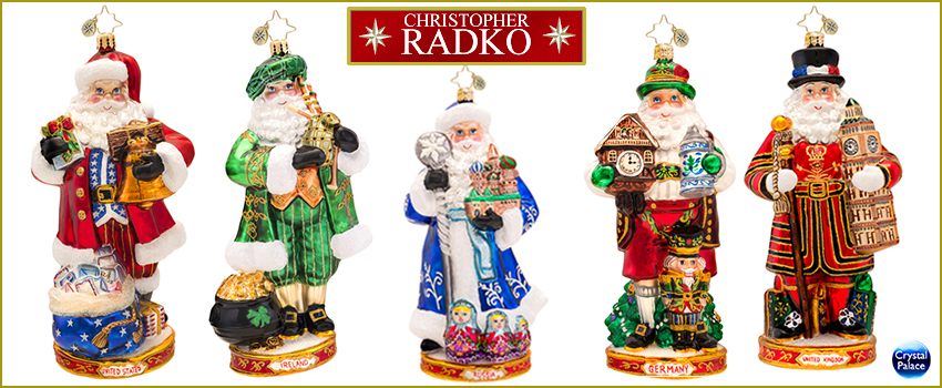 Around the World   Radko Ornaments