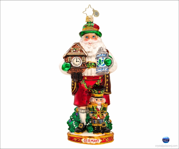 (SOLD OUT) Bavaria's Best Radko  Christmas Ornament