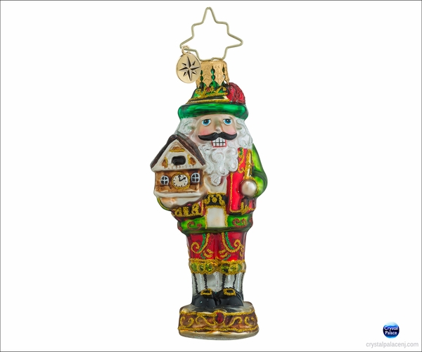 (SOLD OUT) Christopher Radko Bavarian Cracker Gem Christmas Ornament