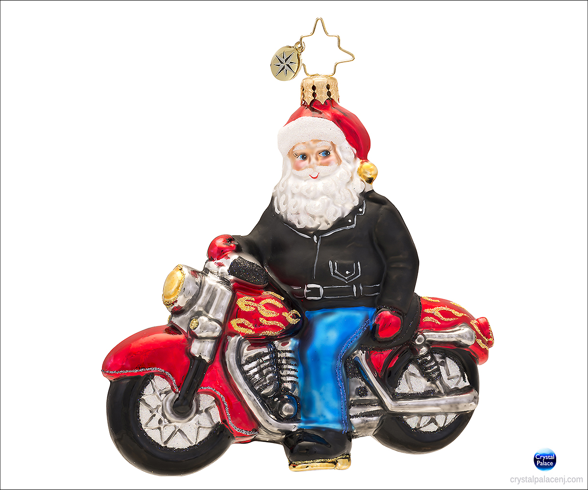 (SOLD OUT) Born to Be a Biker Radko Ornament