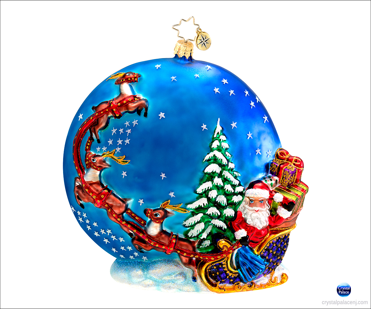(SOLD OUT) Into the Starry Night Radko Christmas Ornament