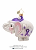 (SOLD OUT) Ellie Alzheimer's Charity Awareness  Radko  Ornament