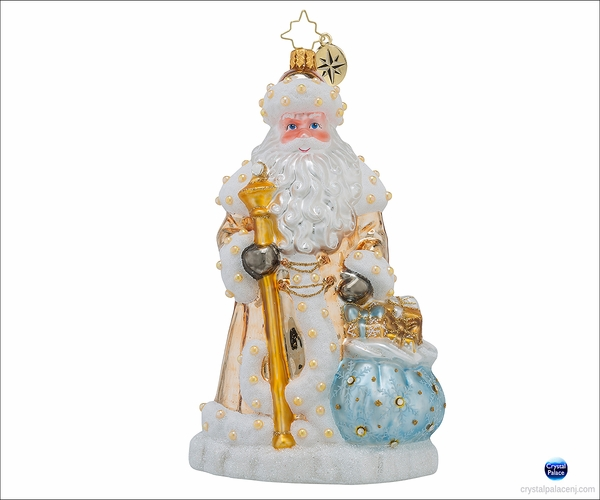 (SOLD OUT) Radko Father Frost Christmas Ornament