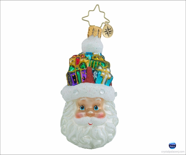 Christopher Radko Gifts on My Mind Gem Christmas Ornament