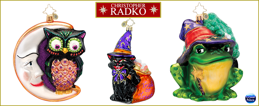 Well-known christopher radko Halloween christmas ornaments XF04