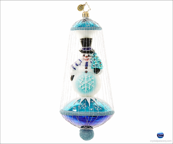 (SOLD OUT) Radko Imperial Frost Christmas Ornament