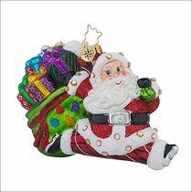 Jolly Bounty Nick Christmas Ornament