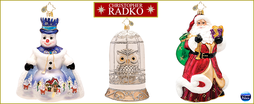 Limited Edition Radko Ornaments