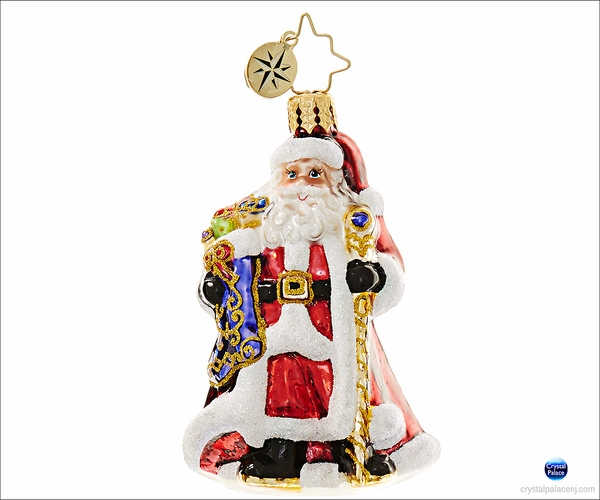 (SOLD OUT) Noble Nicholas Little Gem Radko Ornament