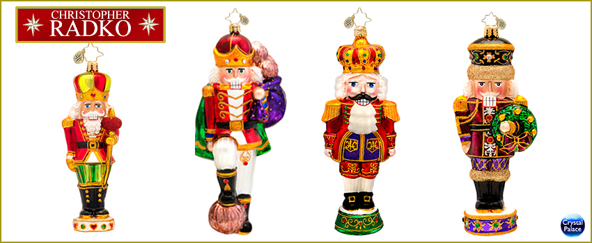 nutcracker radko ornaments - Nutcracker Christmas Ornaments