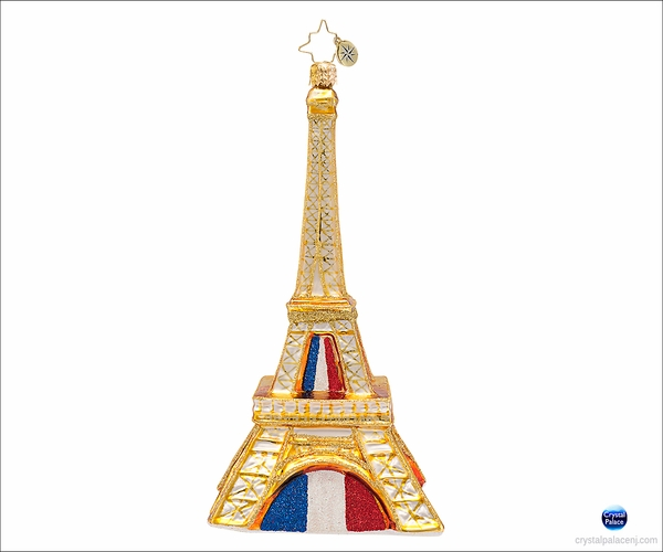 (Sold Out) Pride of  Paris Radko  Ornament