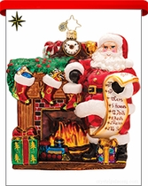 Santa Claus Radko Ornaments