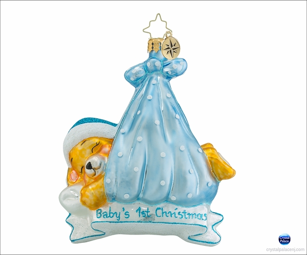 Christopher Radko Special Delivery Boy Christmas Ornament