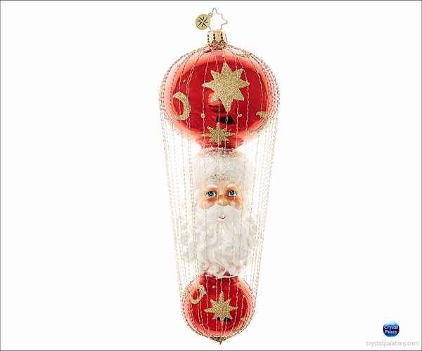 (SOLD OUT)  St. Nick-A-Float Radko Christmas Ornament
