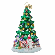 (SOLD OUT)  Christopher Radko Tannenbaum Glow Christmas Ornament
