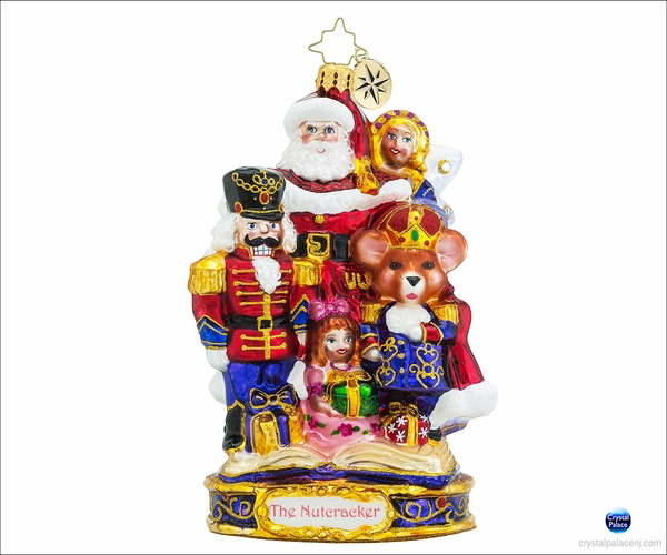 (SOLD OUT)  Christopher Radko The End of an Adventure  Christmas Ornament