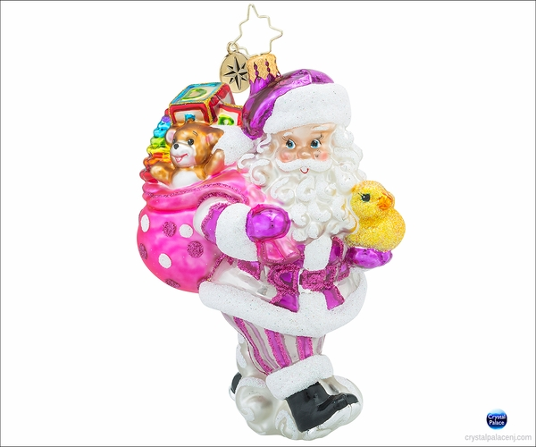 Christopher Radko Toyland Deliveries Girl Christmas Ornament
