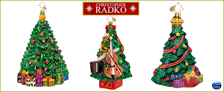 Christmas Tree Radko  Ornaments