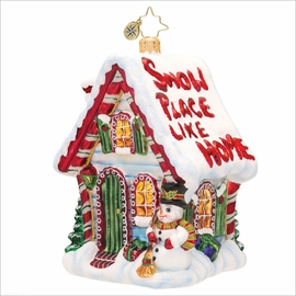 (SOLD OUT) Comfy Cottage Radko   Ornament