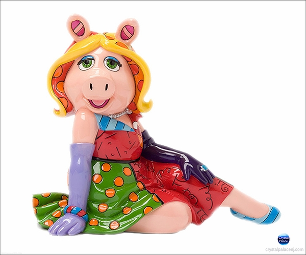 Miss Piggy by Britto