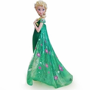 Disney Elsa as seen in Frozen Fever Couture de Force Figurine by Enesco