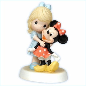 "(SOLD OUT)Disney Girl With Minnie Figurine  ""You Are A Classic!"""