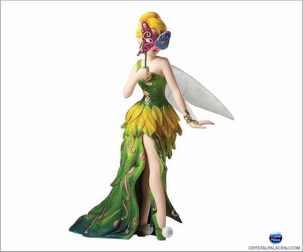 Disney Masquerade Peter Pan Tinker Bell Couture de Force Figurine by Enesco