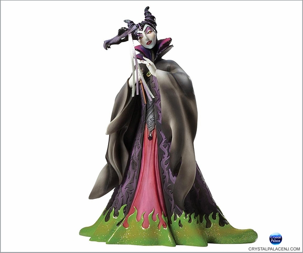 Disney Masquerade Sleeping Beauty Maleficent Couture de Force Figurine by Enesco