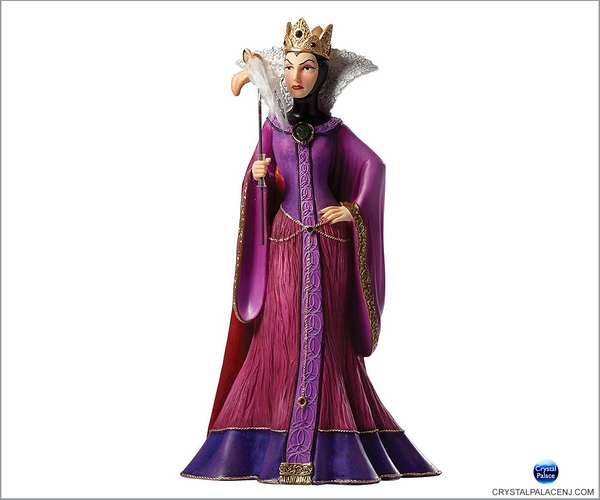 (SOLD OUT) Disney Masquerade Snow White Evil Queen Couture de Force Figurine by Enesco