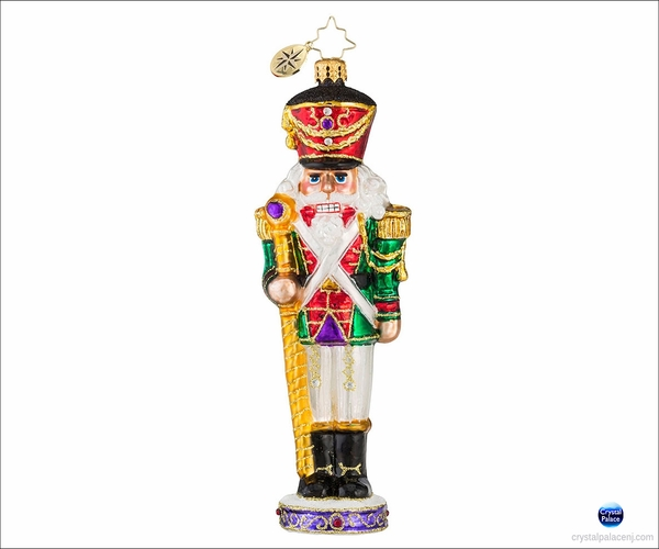 (SOLD OUT) Evergreen Guard Radko Ornament