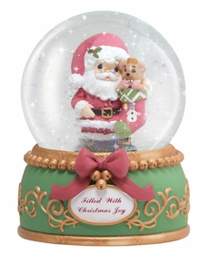 (SOLD OUT)Filled With Christmas Joy 100mm Musical Water Globe
