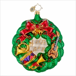 Finely Tuned Radko  Ornament