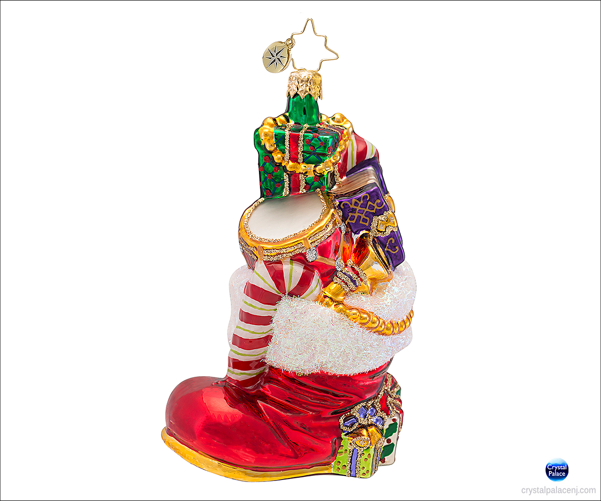 Christopher radko gifts to boot christmas ornament