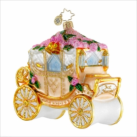 (SOLD OUT) Here Comes the Bride Radko  Ornament