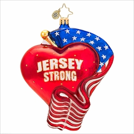 (SOLD OUT) Jersey Strong Radko   Ornament