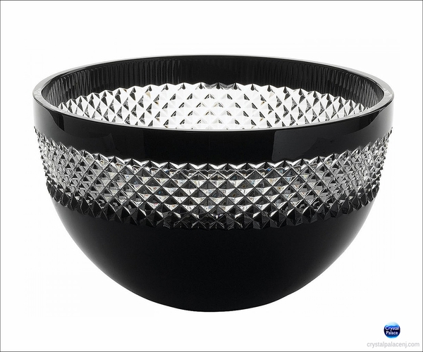 "(SOLD OUT) John Rocha at Waterford Black Cut 8"" Bowl"