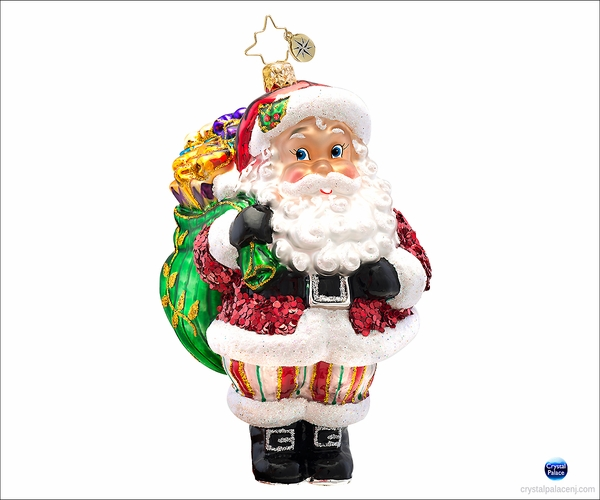 (SOLD OUT) Jolly Jeff  Radko  Christmas Ornament