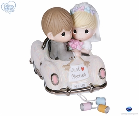 Just Married - Bride and Groom