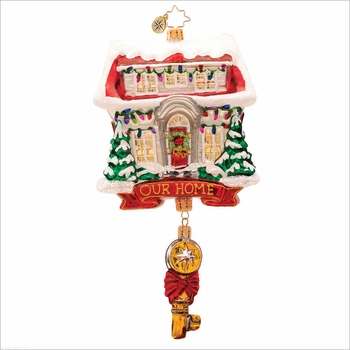 (SOLD OUT) Key for Heart and Home Radko  Ornament
