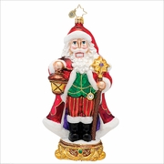Kringle Cracker Radko Christmas Ornament
