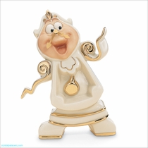 (SOLD OUT) Lenox Classics Disney: Beauty and the Beast Cogsworth, Right on Time