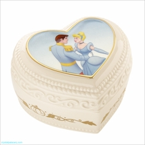 Lenox Classics Disney: Cinderella and the Prince Sweet Romance Keepsake Box