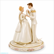 Lenox Classics Disney: Cinderella's Wedding Day Cake Topper