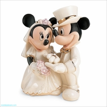 Lenox Classics Disney Minnie's Dream Wedding