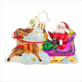 (SOLD OUT) Magic Journey Gem Radko Ornament