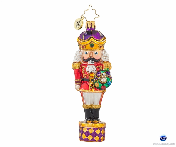 (SOLD OUT)  Major Monarch Radko Ornament