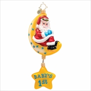 (SOLD OUT) Merry Moon BOY Radko Christmas Ornament