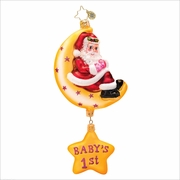 (SOLD OUT) Merry Moon GIRL Radko Christmas Ornament